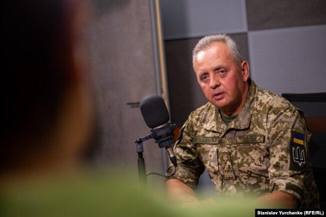 Віктор Муженко у студії Радіо Свобода. 22 серпня 2019 року