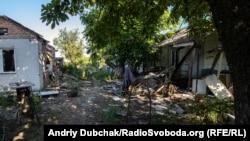 Прифронтове село Опитне, неподалік Донецького аеропорту