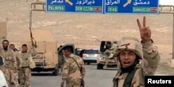 Войска Башара Асада на подступах к Пальмире. 24 марта