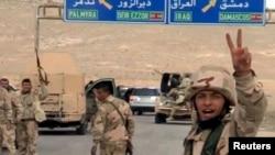 Snage lojalne Bašaru el Asadu u blizini Palmire