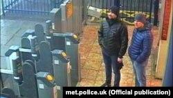 Как было совершено покушение на Скрипалей. Фото британской полиции