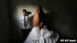 Палестинера жима къонах Сабахь Ахьмад, 15 шо, шен 14 шо долчуу нускалца
