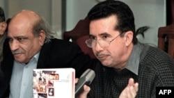 Afrasiab Khattak (right) is a veteran Pakistani human rights activist
