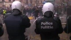 Protesti desničara u Briselu