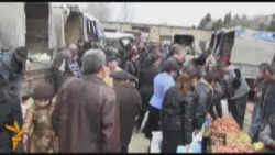 Sumqayıtda şənbə bazarı