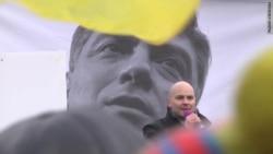 Митинг памяти Бориса Немцова в Санкт-Петербурге