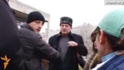 Ахтема Чийгоза насильно вивели з провладного мітингу кримських татар