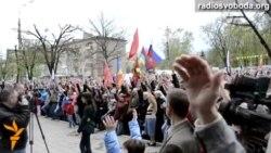 У Луганську проросійські активісти проводять «народний сход»