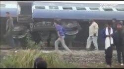 Десятки людей погибли в результате крушения поезда в Индии