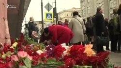 По всему миру вспоминают жертв теракта в Петербурге