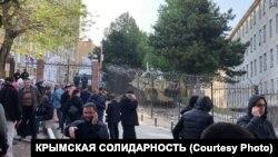 Крымский гарнизонный военный суд в Симферополе, 18 мая 2021 года
