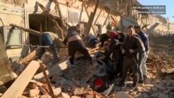 Petrinja trenutak nakon zemljotresa
