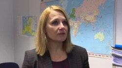 Maja Kocijancic, purtătoarea de cuvînt a responsabilei cu politica externă a UE, într-o declarație pentru Europa Liberă
