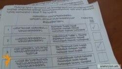 Թիվ 4 ԸԸՀ-ում վերահաշվարկից հետո ԲՀԿ-ի քվեների թիվը չփոխվեց