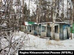 """Брошенные дома бывшего """"Татаркино"""""""