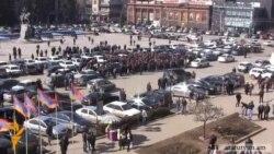 Կառավարության նոր որոշումը հարուցել է տաքսու վարորդների հերթական բողոքը (Գյումրի)