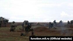 Учения российских военных в Крыму, архивное фото