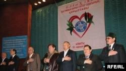 Президиум учредительного форума союза «Глас народа». Алматы, 18 ноября 2008 года.