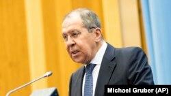 سرگی لاوروف، وزیر امور خارجه روسیه، ۱۴ مارچ ۲۰۱۹