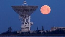 Crimeea - Telescopul din Molocinoe în noaptea trecută,19 febr., 2019