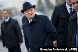 Ислам Каримов, 2015 год.