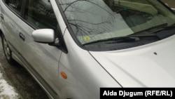Oznaka Euronorma 3 na ovom automobilu, Sarajevo