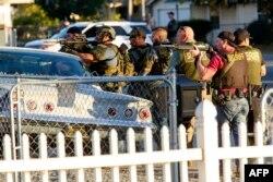 ساعاتی پس از حمله مهاجمان به مرکز معلولان در سنبرناردینو، پلیس با آنها در منطقهای مسکونی درگیر شده است.