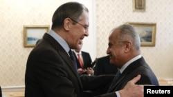 Встреча Сергея Лаврова со спецпредставителем Генерального секретаря ООН по Ливии Абдель Илахом аль-Хатыбом