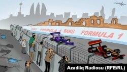 Formula-1. Karikatura