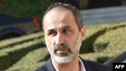 Syrian opposition leader Moaz al-Khatib