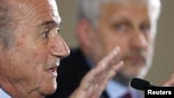Шефот на ФИФА Сеп Блатер