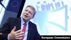 Komisioneri i Bashkimit Evropian pë Zgjerim, Stefan Fule (Ilustrim)