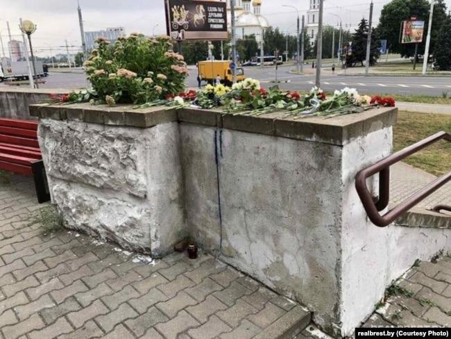 Место гибели Геннадия Шутова