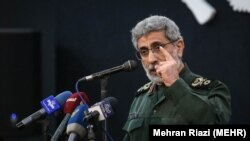 Brigadier General Esmail Qa'ani (Ghaani), IRGC Qods Force commander. FILE PHOTO