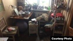 В квартире Прокопьевой после обыска