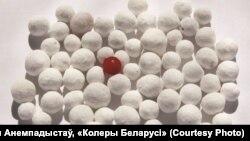 Тут і ніжэй: фоты з выставы Міхала Анемпадыстава «Колер Беларусі»