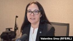 Alina Russu, președinta Comisiei Electorale Centrale în studioul Europei Libere, octombrie 2017
