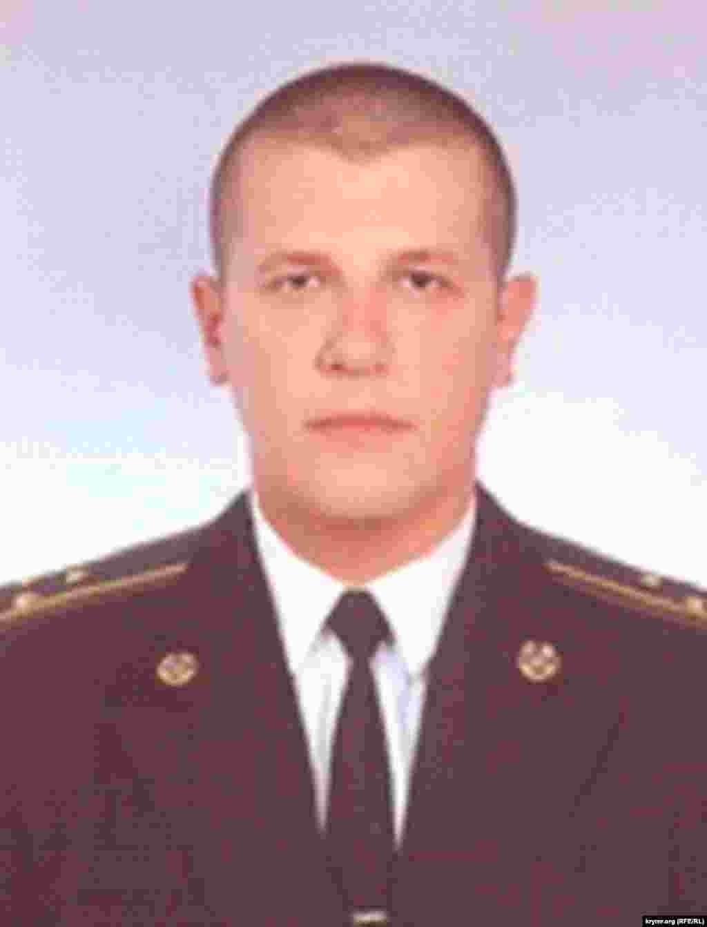 Николай Захарюгин, бывший оперуполномоченный управления СБУ в Севастополе, старший лейтенант