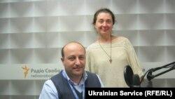 Иване Бочоришвили и Инна Ткачова