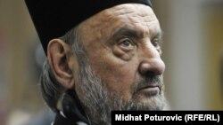 Василие Качавенданың Сербия православ шіркеуінің епископы кезіндегі суреті. 10 мамыр 2012 жыл.