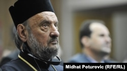 Bosnia-Herzegovina - Serbian orthodox bishop Vasilije Kacavenda on May 10, 2012.