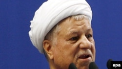 اکبر هاشمی رفسنجانی، رئيس مجلس خبرگان و مجمع تشخيص مصلحت نظام