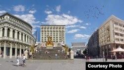 План за Шпански скали во Скопје.