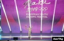 XV Avropa Yay Oyunları Festivalının açılşı - 21 iyul 2019