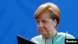 Germaniýanyň kansleri Angela Merkel, Berlin, 2-nji iýun. 2017.