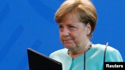 Cancelarul Angela Merkel astăzi la Berlin