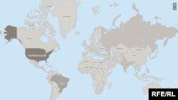 Harta răspândirii COVID-19. Informații actualizate în timp real