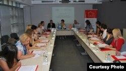 Дебата за сексуално и репродуктивно здравје во Скопје.