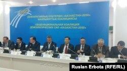 """Демократиялық күштердің """"Қазақстан-2050"""" жалпыұлттық коалициясының жиыны. Астана, 24 мамыр 2016 жыл."""