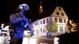 Pamje pas të shtënave me armë zjarri në Strasburg